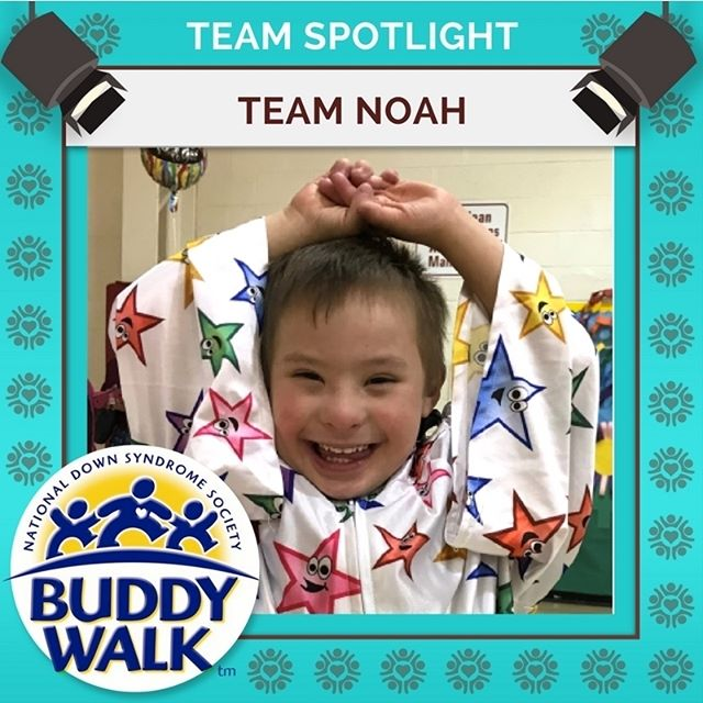 Join us in welcoming Team Noah, walking in our Buddy Walk for a fourth year! Will you be joining Team Noah at this year's annual Buddy Walk on September 15? . . . #BuddyWalk #team #t21family #NDSS #DownSyndrome #DownSyndromeAwareness #t21 #BeInspired #WalkWithUs #DS #advocacy