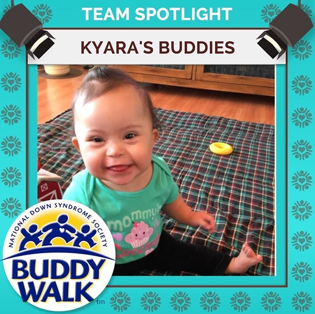 Buddy Walk is just around the corner and Kyara's Buddies are ready to join in the fun for the first ever time! Sign up your Buddies for this year's annual Buddy Walk on September 15! . . . #BuddyWalk #team #t21family #NDSS #DownSyndrome #DownSyndromeAwareness #t21 #BeInspired #WalkWithUs #DS #advocacy