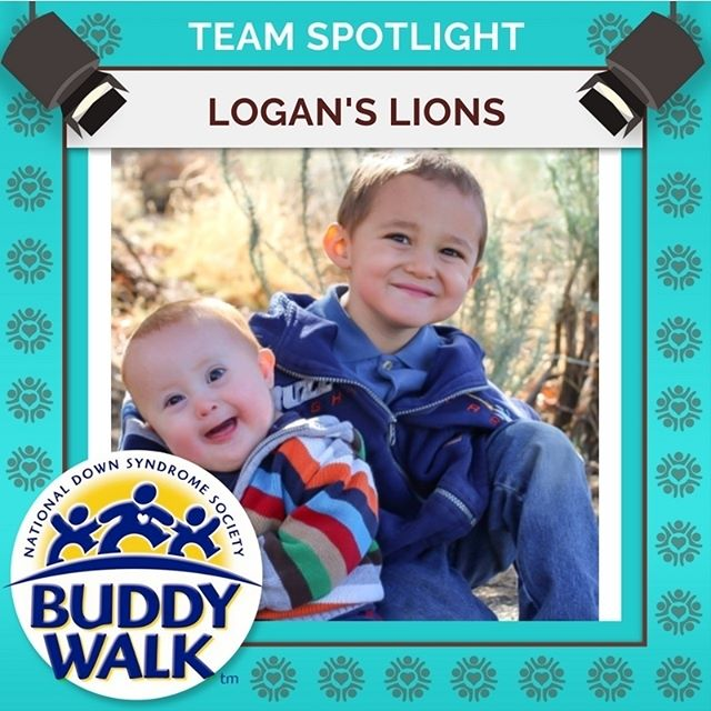 Ladies and gentleman! For a second year in a row, Logan's Lions will be participating in the RGDSN Buddy Walk! Get your family registered for this year's walk happening on September 15! . . . #BuddyWalk #team #t21family #NDSS #DownSyndrome #DownSyndromeAwareness #t21 #BeInspired #WalkWithUs #DS #advocacy