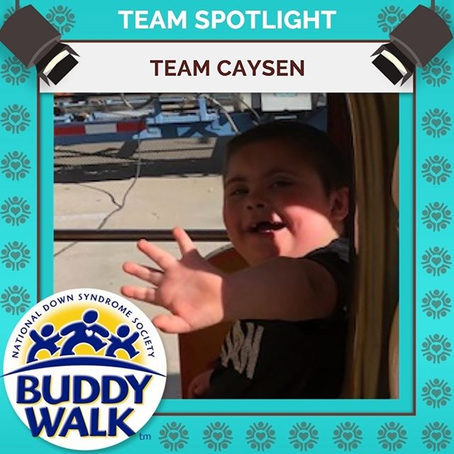 Don't forget to register by tomorrow, August 10, to be guaranteed a t-shirt for this year's Buddy Walk. Your registration benefits the families of RGDSN like Team Caysen who will be celebrating their 5th Buddy Walk! . . . #BuddyWalk #team #t21family #NDSS #DownSyndrome #DownSyndromeAwareness #t21 #BeInspired #WalkWithUs #DS #advocacy