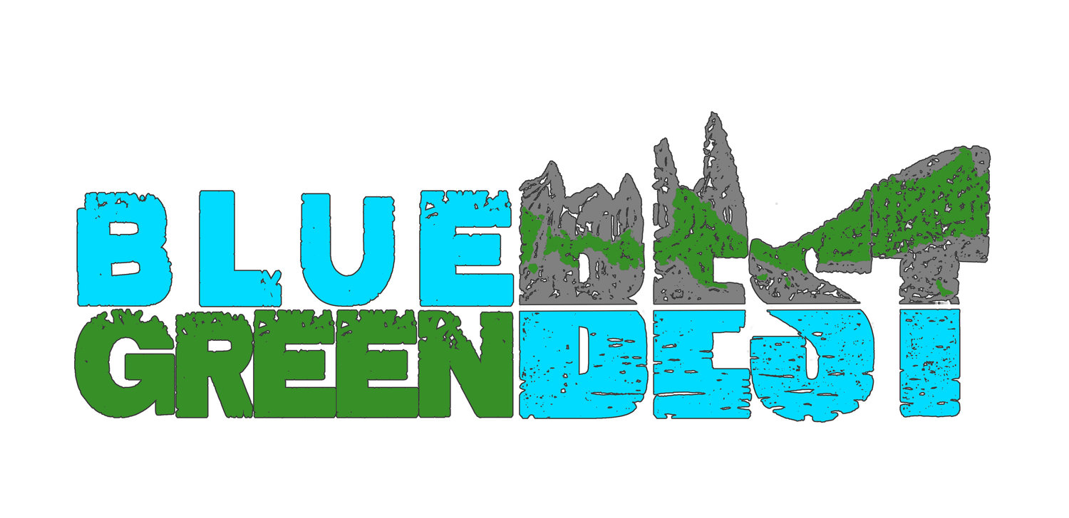 Blue & Green Best