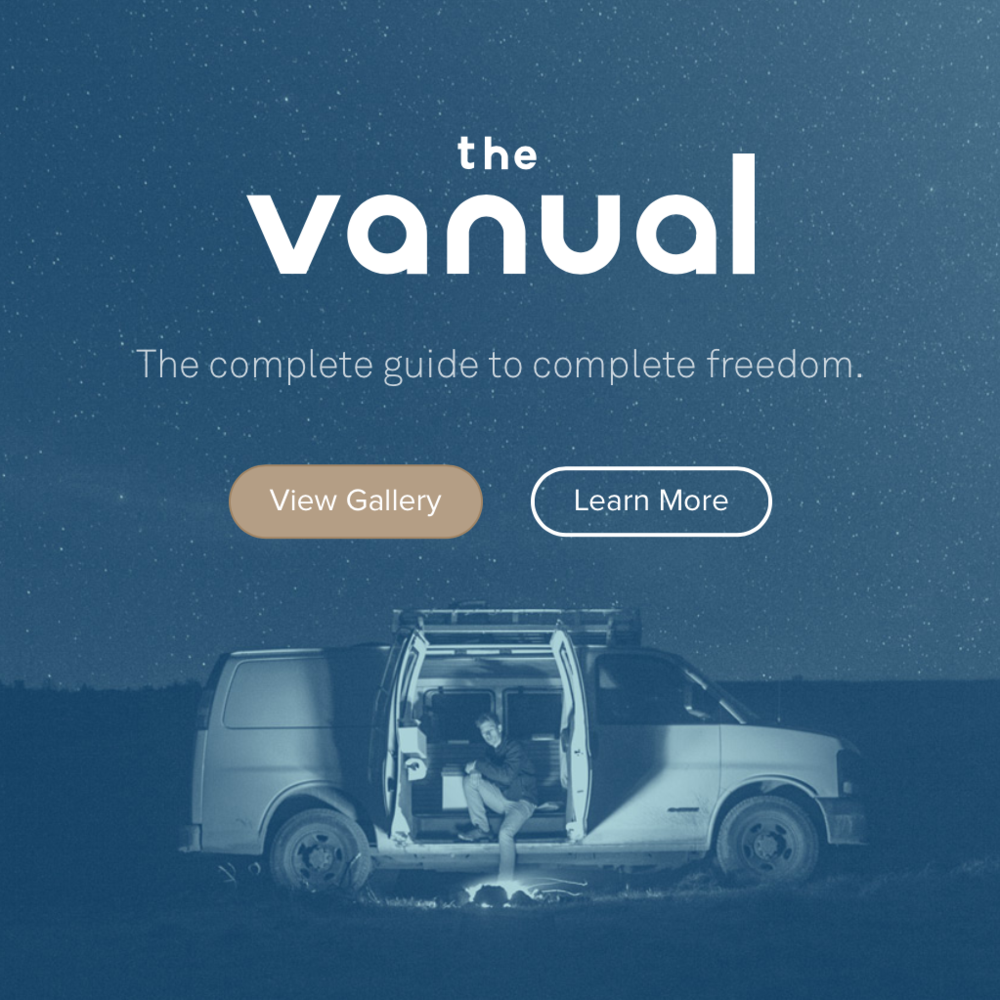 THE VANUAL The Complete Guide to Living the Van Life. Everything about this website is impressive. Do yourself a favor and visit it today.