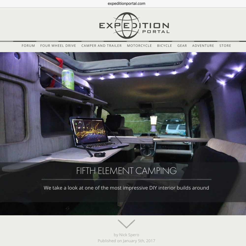 EXPEDITION PORTAL The ultimate site for Overlanders, from the Forum to the reviews, this site has it all. Get ready to get lost.