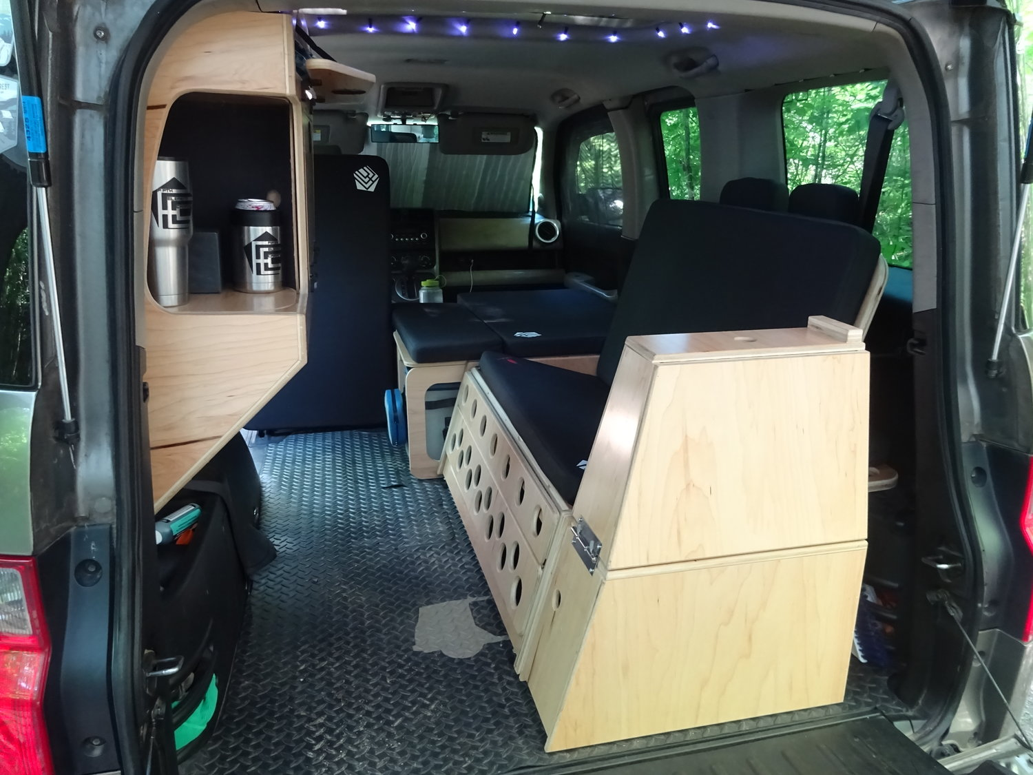 Fifth Element Camping Honda Element Micro Camper System