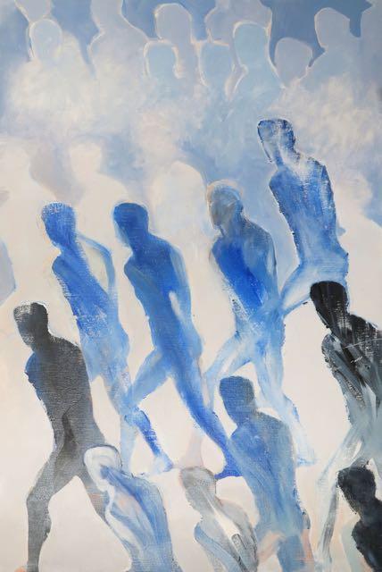 2015 (3), huile sur toile, 81x54cm