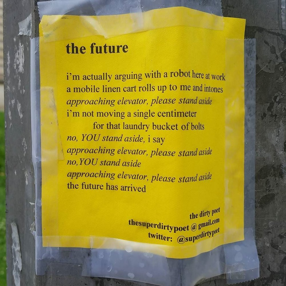 The Future, by @superdirtypoet #publicart #poetry #dirtypoet.jpg