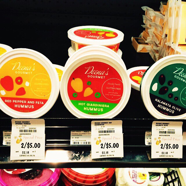 Huge sale at Kowalski's!!! Hummus 2/$5. AND Deena's new cheese dips $2 off!!! #hummus #dips #sale #local