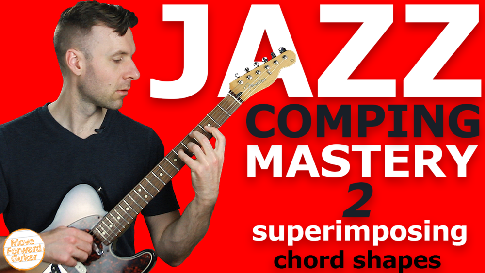 Jazz Comping Master 2 Guitar Course Cover Image