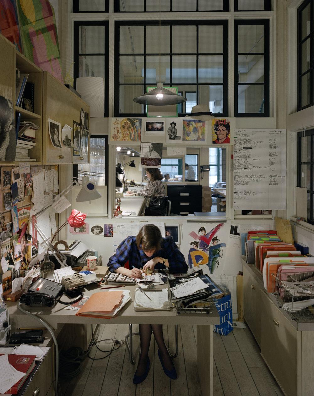 Amdy Warhol Factory - 34th & Madison, NY