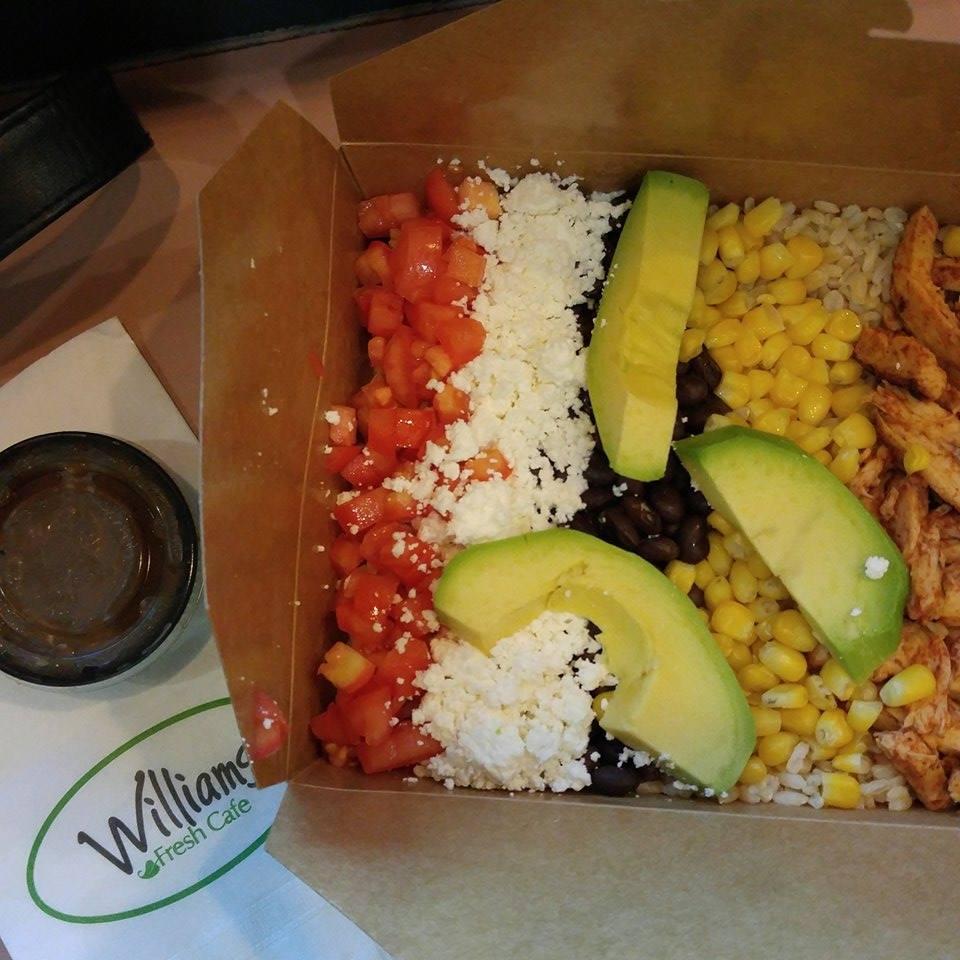 grilled chicken rice box