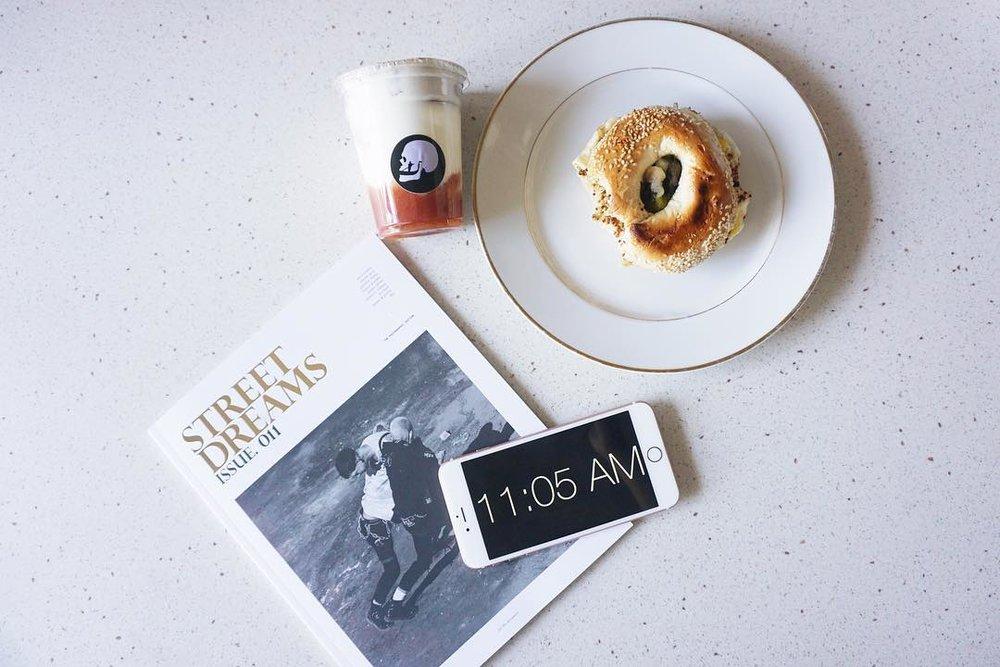 Death in Venice has a pretty good breakfast bagel