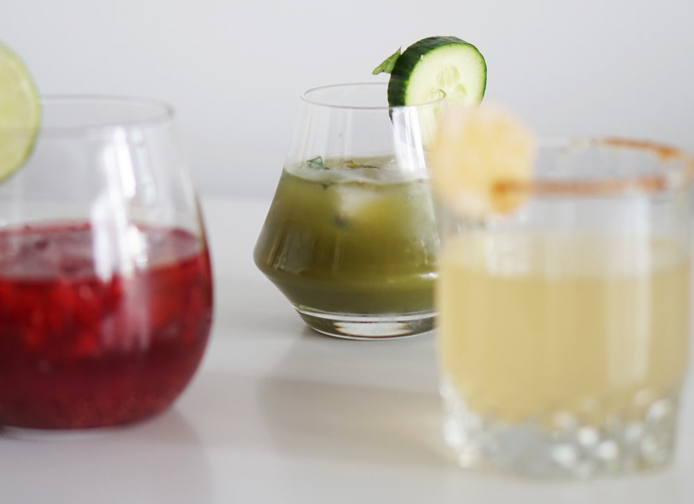 Verdict: - making delicious not-too-sweet cocktails with 4 things or less? Possible.