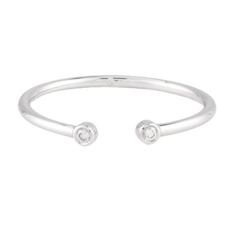 Mejuri Diamonds Open Ring