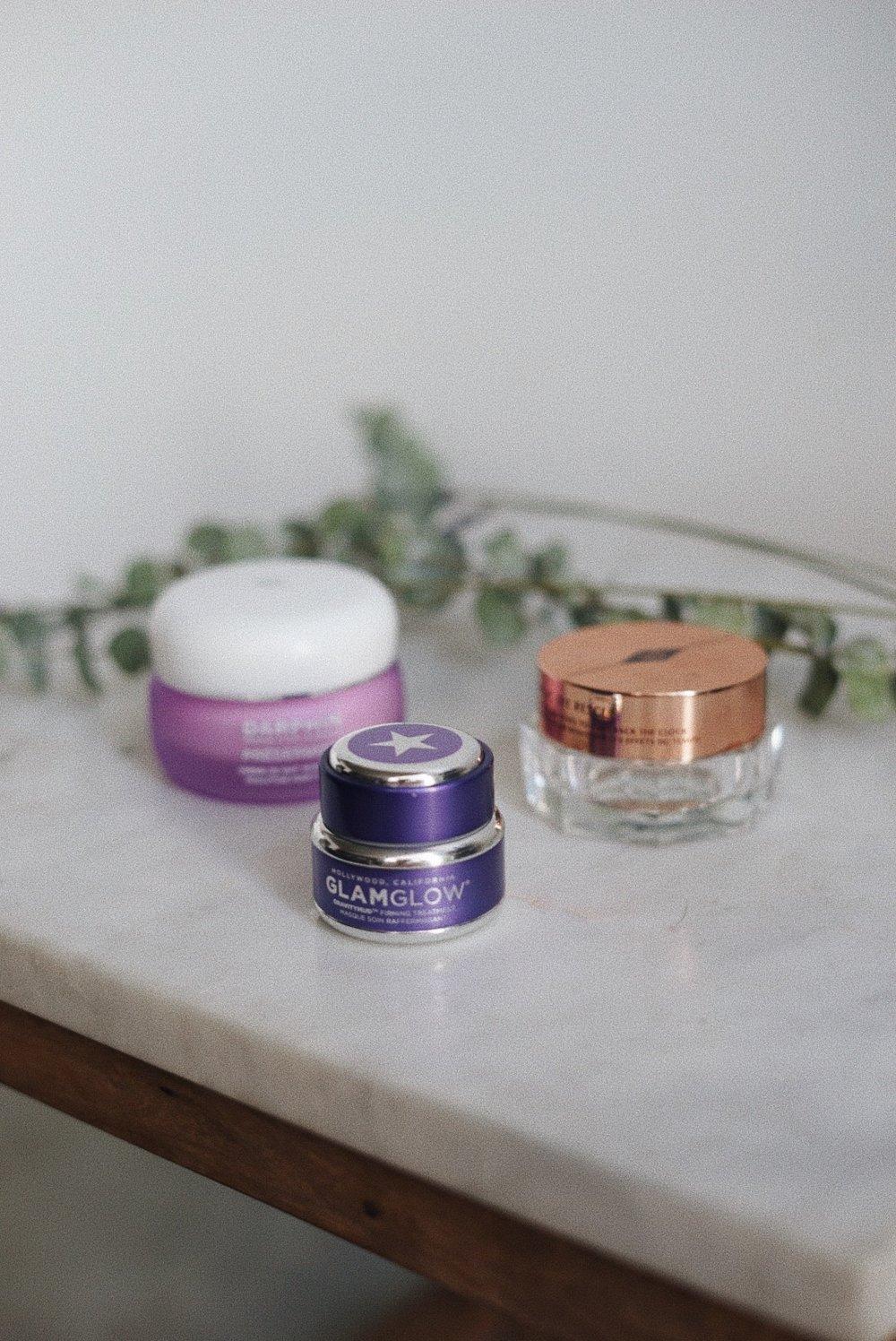 Night Products - Glamglow Gravitymud Firming Treatment Charlotte Tilbury Magic Eye RescueDarphin Night Cream