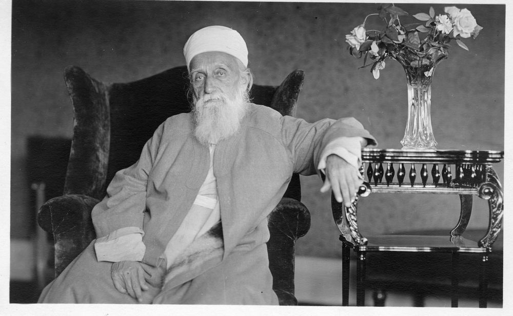 Abdu'l-Baha at the Rittenhouse Hotel, Philadelphia, June 1912