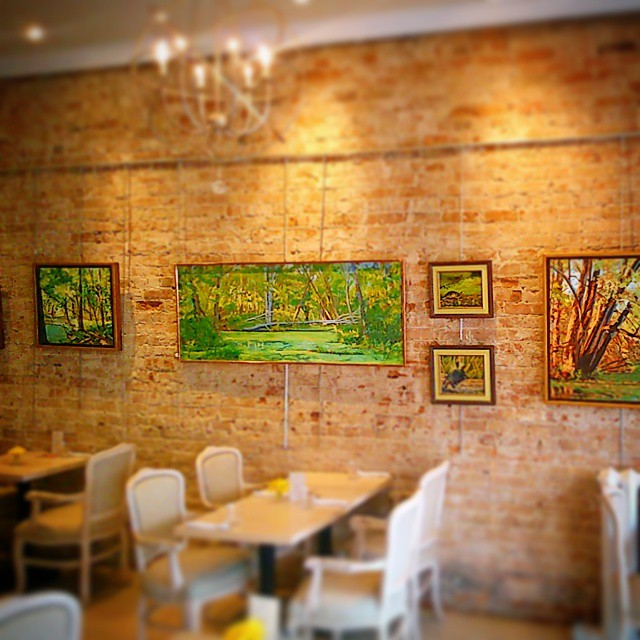 Featuring a monthly rotation of local artists works...