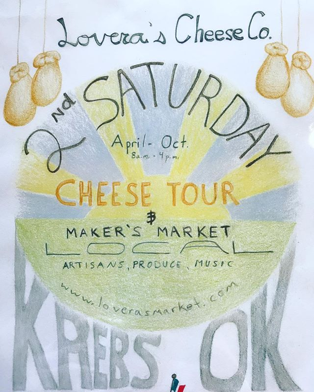 Excited for the first ever, 2nd Saturday! 🧀🎉We will be serving up sandwiches, calzone and of course some local craft 🍻 We will have a market set up across the street with local producers and live 🎶 not to mention activities and crafts for the whole family! #loverasmarket #localfood #foodie #foodies #okc #oklahomamade #artisancheese