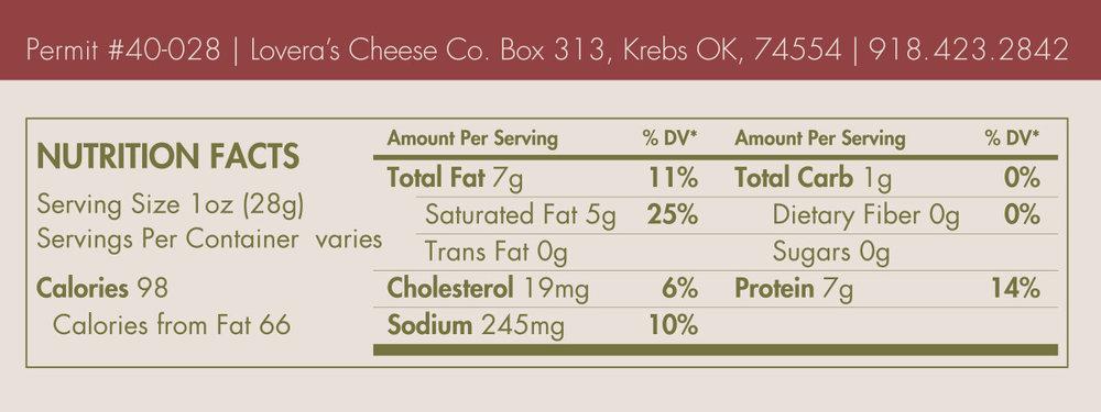 Nutritional Labels - Caciocavera Madeline.jpg