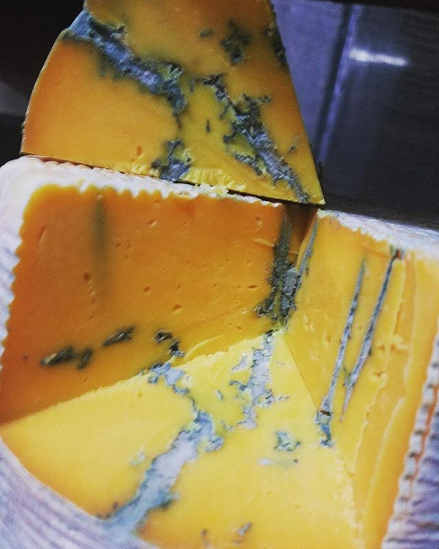 1st batch of BLEU THUNDER is ready! A great beginners-blue.. soft creamy texture with buttery notes and a slightly tangy earthy finish. Great for melting on burgers or snacking with fruit. Ask for a free sample! #local #handcrafted #artisan #artisancheese #handcraftedcheese #loverasmarket #oklahomacheese #oklahoma #cheeselover #cheeselove