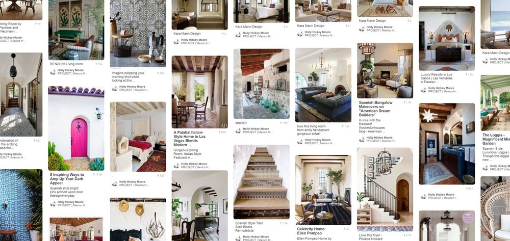 mexico house interiors pinterest board