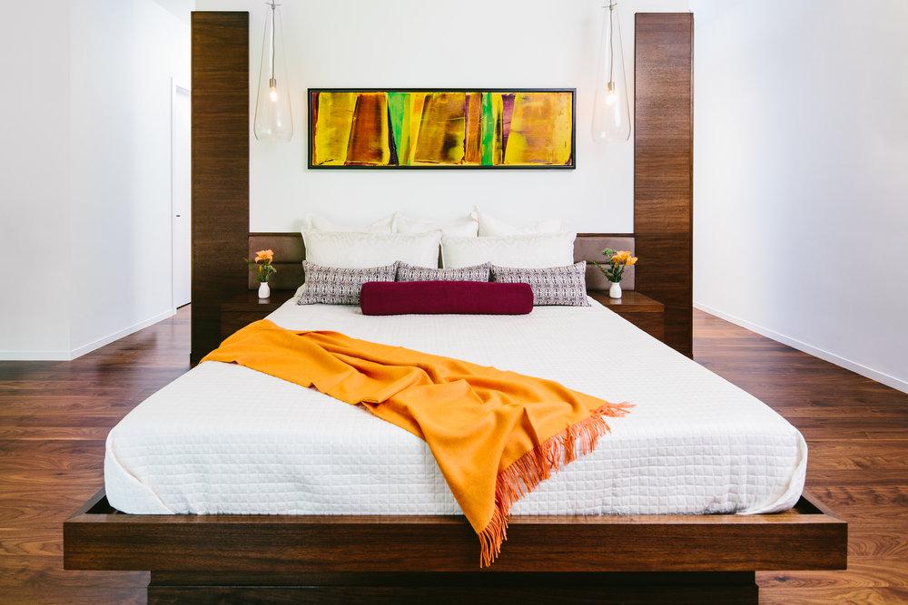 master bedroom vermont
