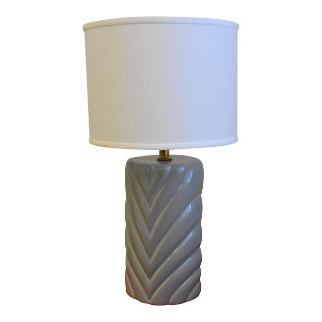 Vintage Gray Lamp $116  was $300