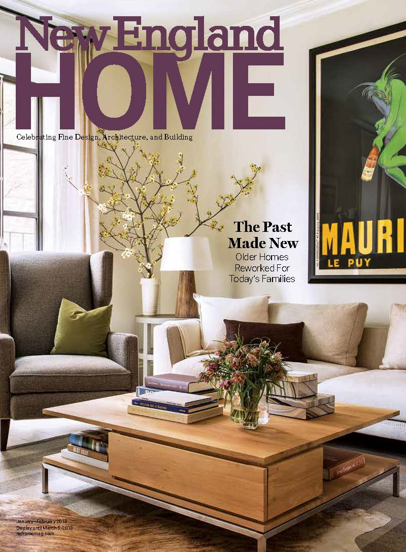 vermont ski house renovation featured in new england home magazine