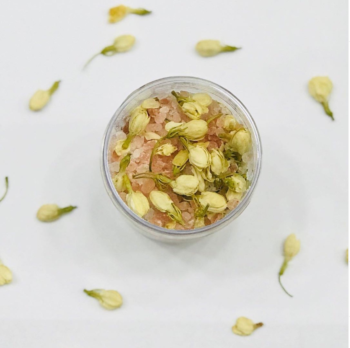 You can make Ylang Ylang bath salts, pop in the bath - or as a nice scrub!