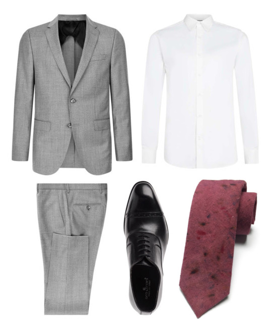 SUIT: Boss // SHIRT: Topman // SHOES: Ciro Ledini
