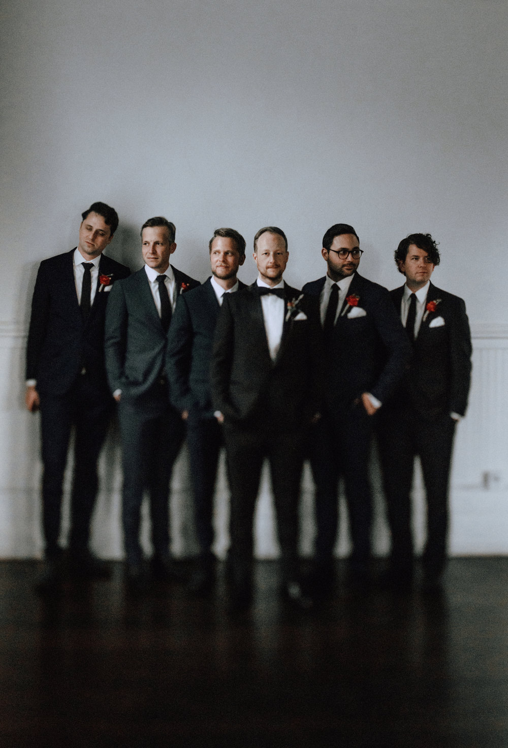 Jeff & His Groomsmen