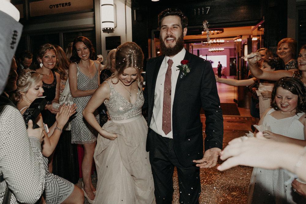 Speckled Mauve Neckties Kathrine Zeren Weddings