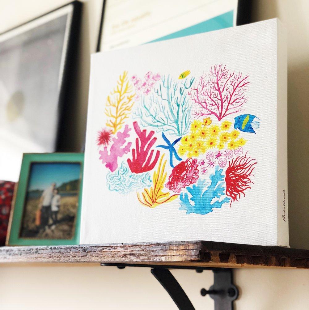 Coral_Under_The_Sea_Ocean_Kids_Wall_Art