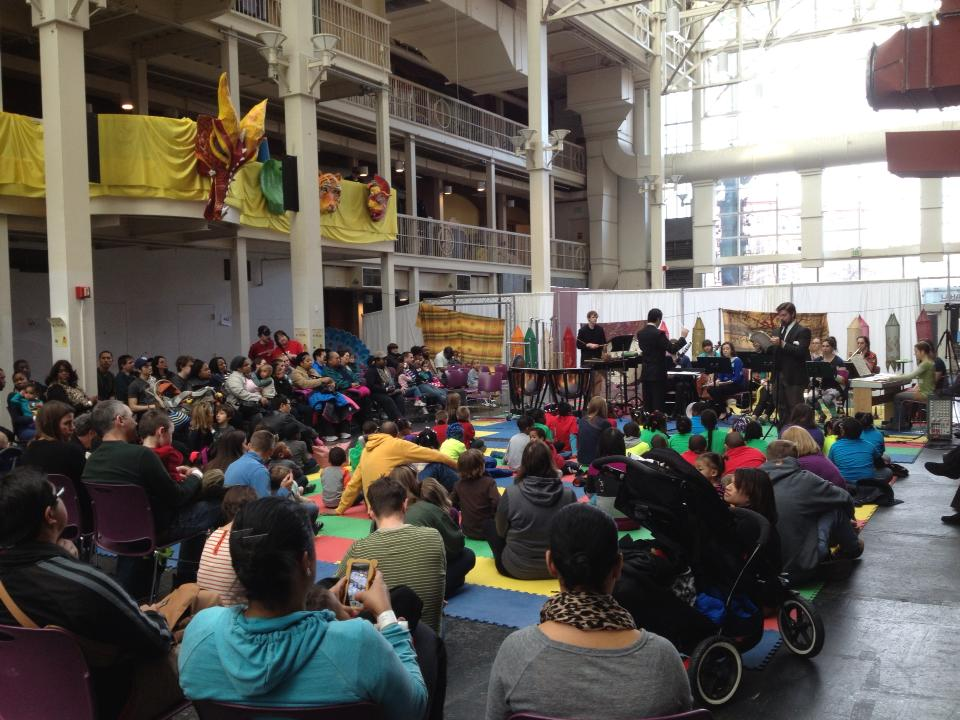 Occasional Symphony's Dr. Seuss concert at Port Discovery Children's Museum in Baltimore