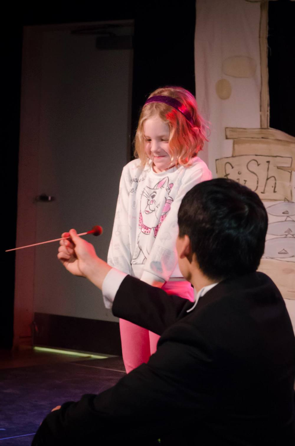 Introducing conducting to curious kids at the Portland Children's Museum