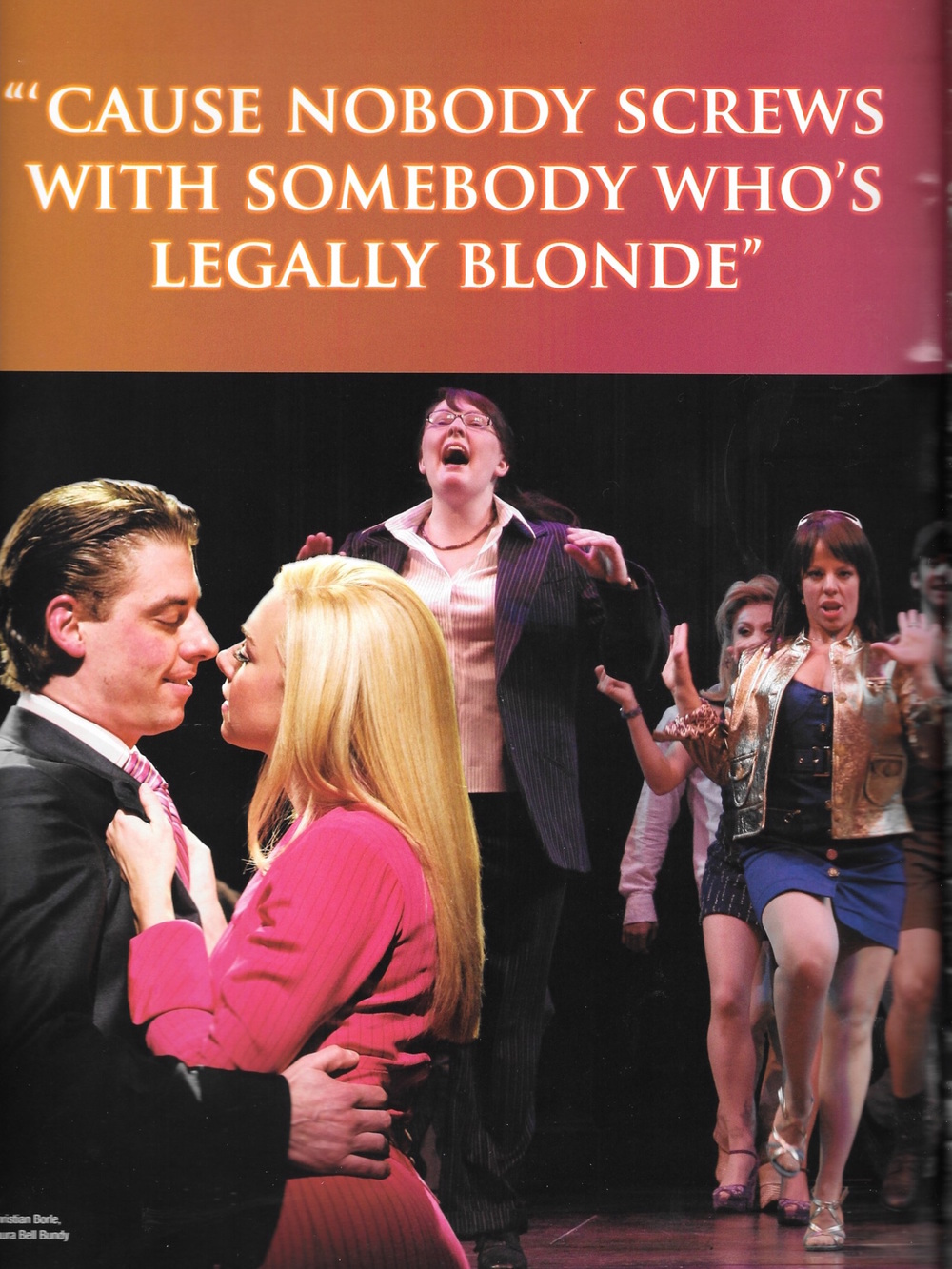 Legally Blonde Broadway