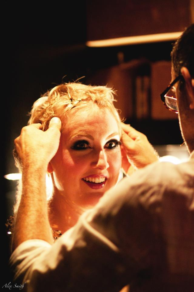 August 13th, 2012. Backstage at 54 Below. Photo by  Alexander Kusak  with  Dirty Sugar Photography .