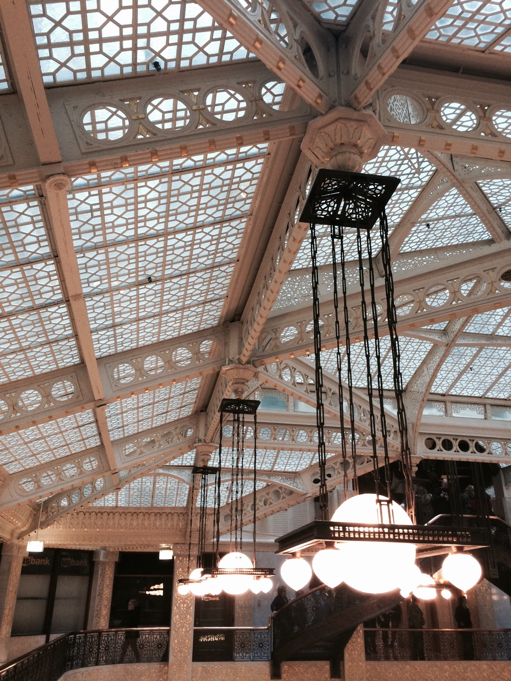 The Rookery, downtown.