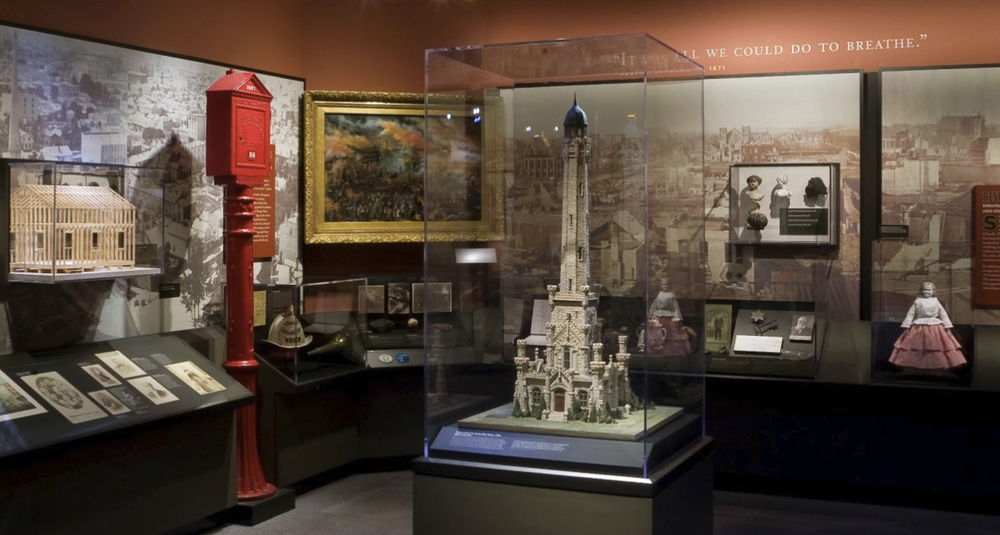 Screenshot of an image from one of the museum's  permanent exhibitions