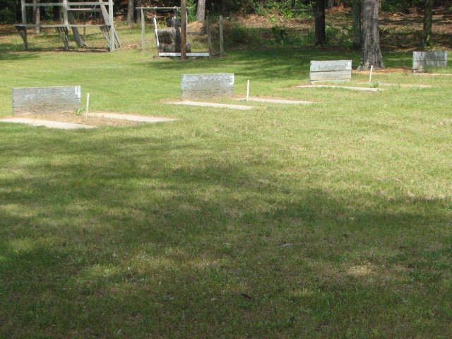 Regulation Horseshoe pits (4 pits)