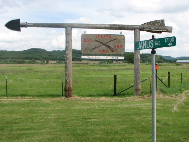Club Sign on State Highway 71