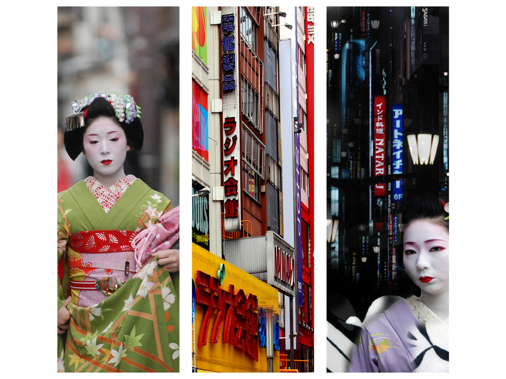Japan and Geishas