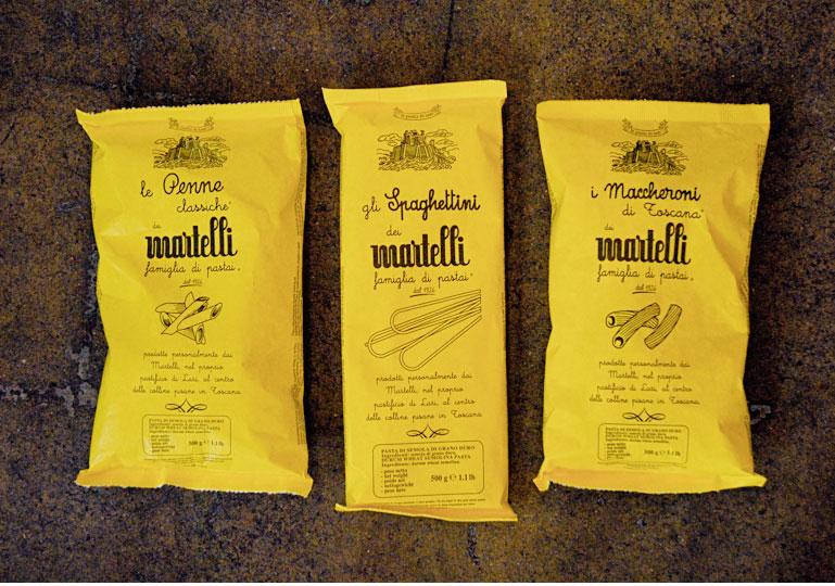 Martelli Pasta from Lari
