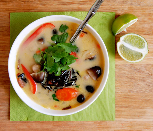 How to make a Thai chicken soup with yuzu and coconut to cure any illness