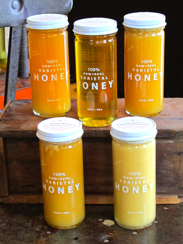 Bee Raw Honey Varietals