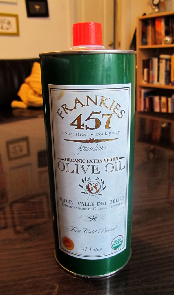 Frankie's Olive Oil from Brooklyn