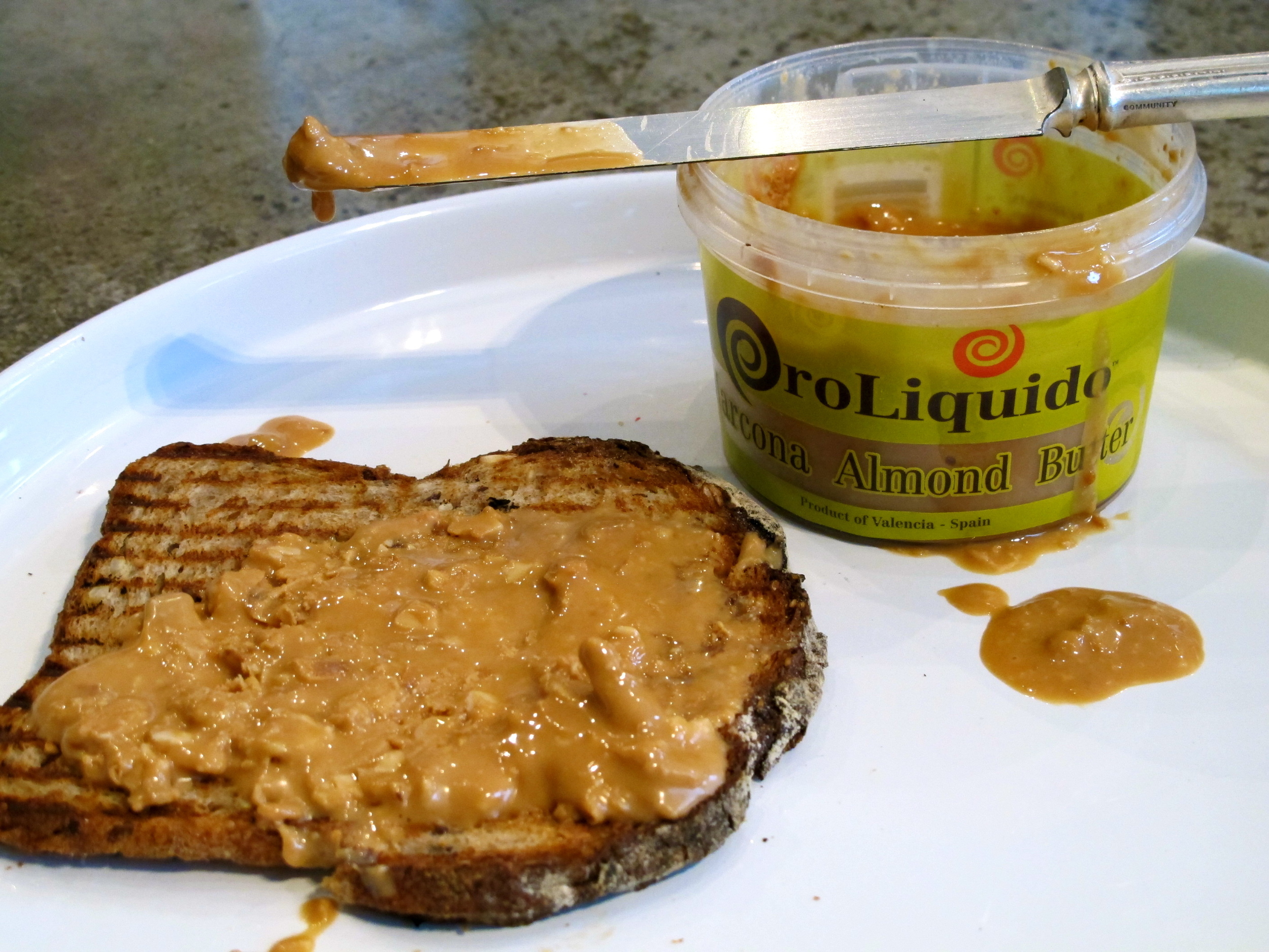 OroLiquido's Marcona Almond Butter Photo: MacKenzie Smith