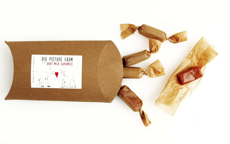 Big Picture Farms Goat milk caramels