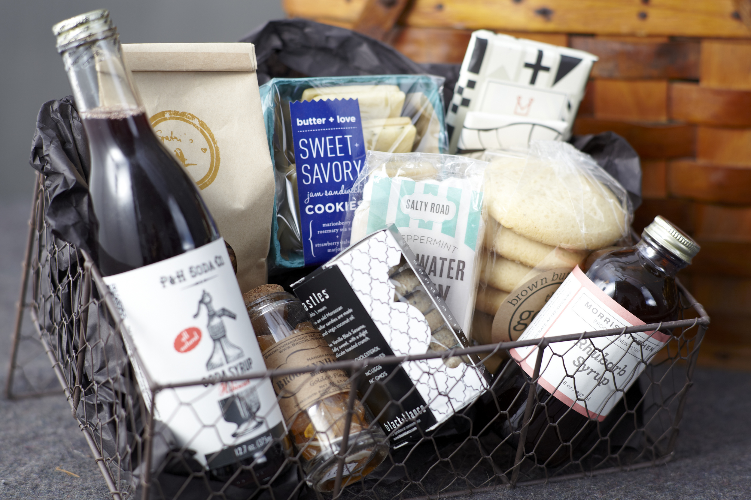 sweet brooklyn foodie gift basket