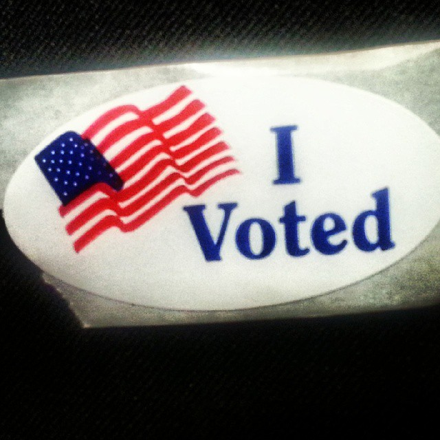 I sure did! #Vote