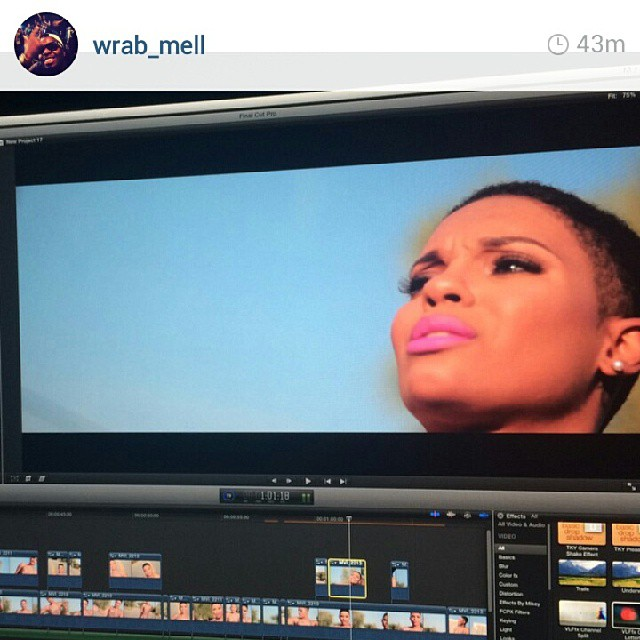 #Repost from @Wrab_Mell… 2015 is gonna be 🔥🔥🔥 keep a look out for ya girl!